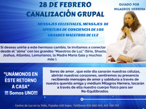 "28 DE FEBREROCANALIZACIÃ""N GRUPAL"
