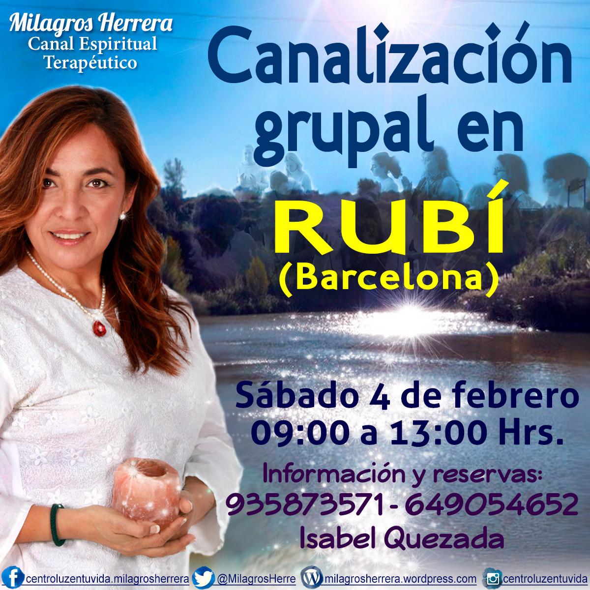 Milagros Herrera, Canal Espiritual