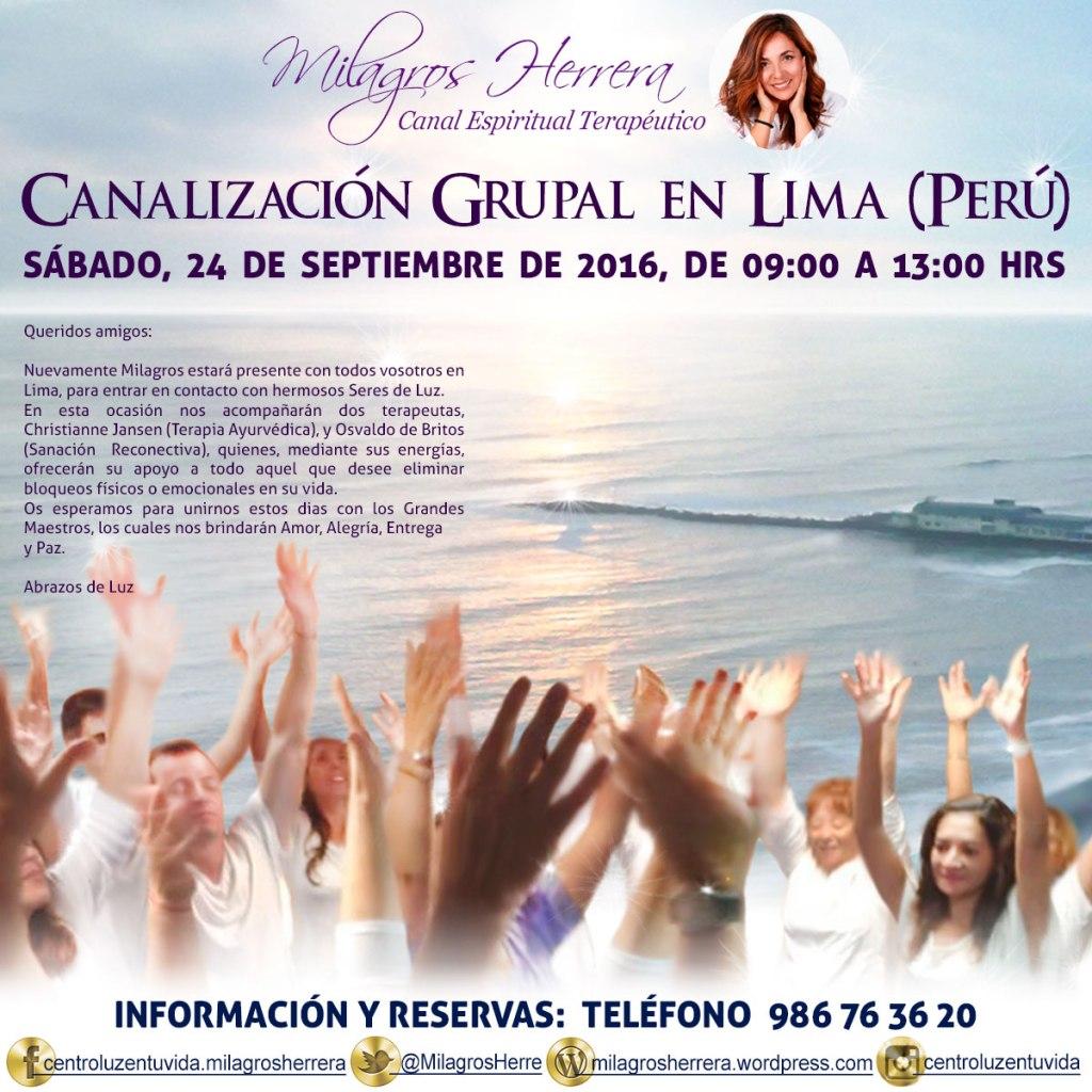 Canalización Grupal en Perú. Para contactar llama al: 986763620 a partir de las 19.00 horas y 979317936 durante el día