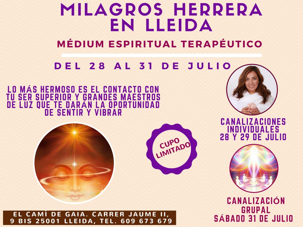 MILAGROS HERRERA MEDIUM ESPIRITUAL TERAPEUTICO CANAL BARCELONA