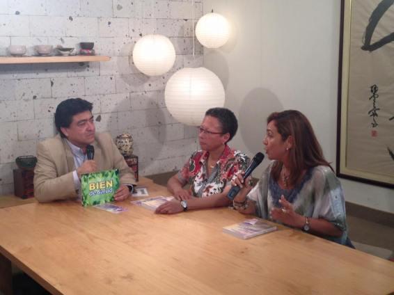 milagros herrera un puente entre dimensiones superiores entrevista Bien de Salud (canal 13) dr. jose luis perez-albela (2)