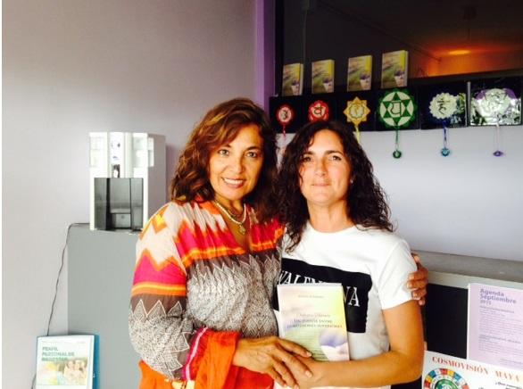 milagros herrera Medium espiritual terapéutico libro Milagros Herrera un puente entre dimensiones superiores
