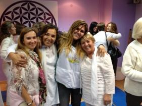 Milagros Herrera, Lizbeth Carrasco, y amigos!