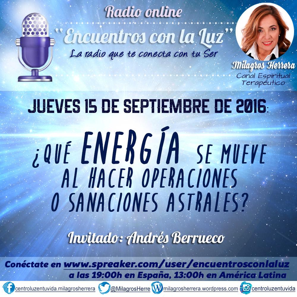 Milagros Herrera, Canal Espiritual Terapéutico, citas al 932 660 135 y 615 700 757