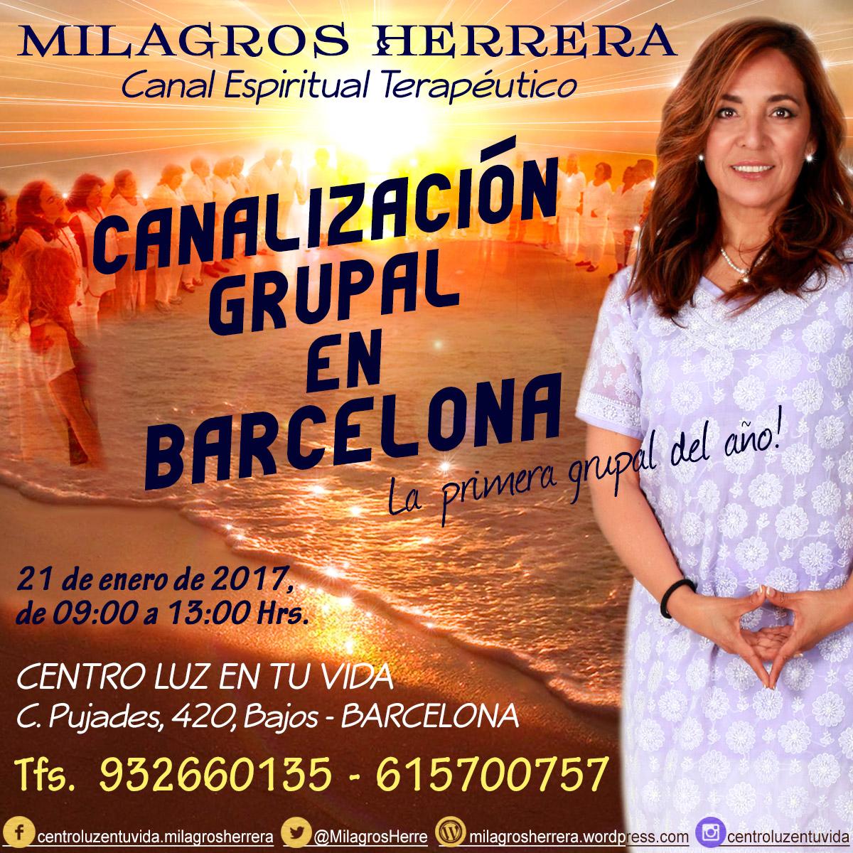Milagros Herrera, Canal Espiritual, 932 660 135