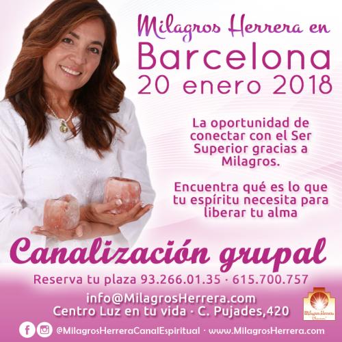 Milagros Herrera Bcn 20 enero