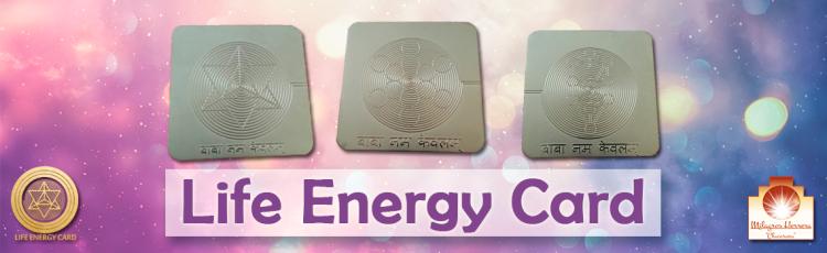 Life Energy Card Milagros Herrera