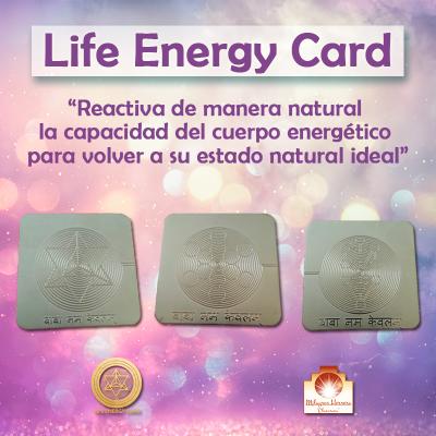 Tarjetas Energia Vital
